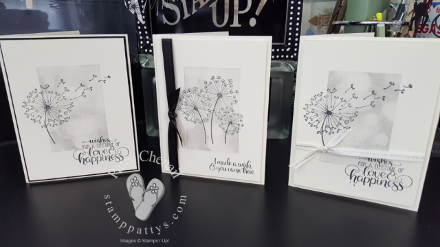 Dandelion Wishes, Bokeh Dots, Notecards