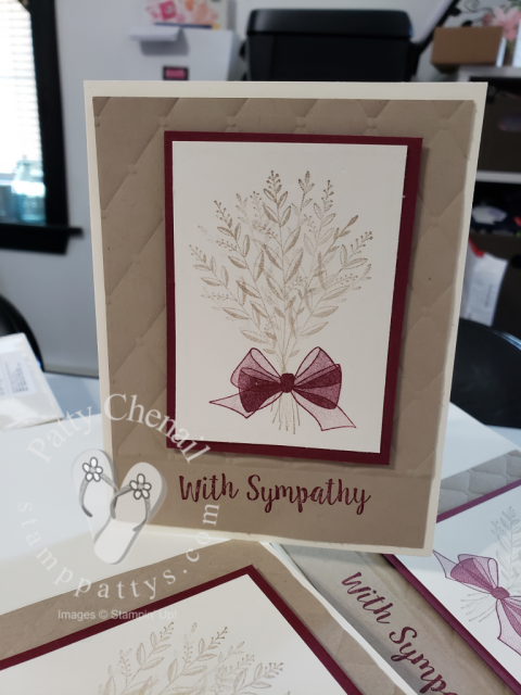 Wishing You Well Sympathy cards using Stampin' Up! Holiday Catalog 2018