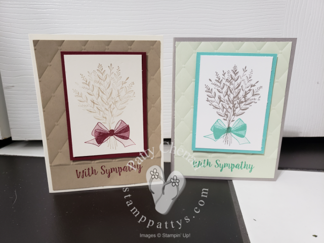 Dueling Sympathy Cards