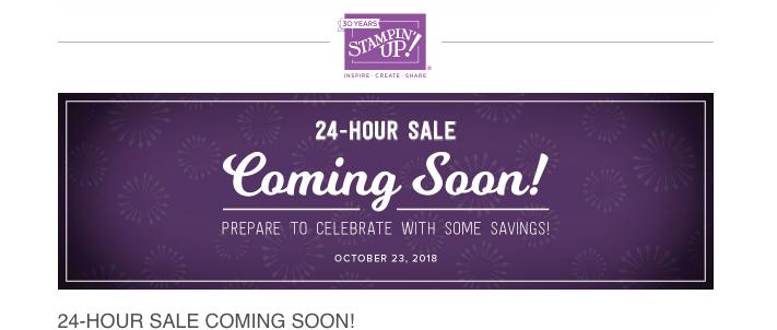 24 HOUR SALE – DON'T MISS IT!