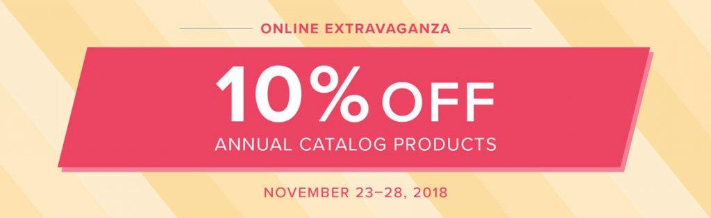 Online Extravaganza – November 23-28, 2018!!