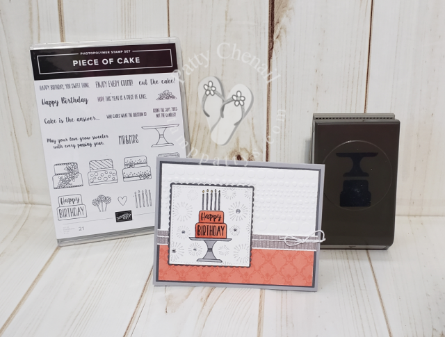 Piece of Cake Stamp/Punch Bundle from the Stampin' Up! Occasions 2019 catalog