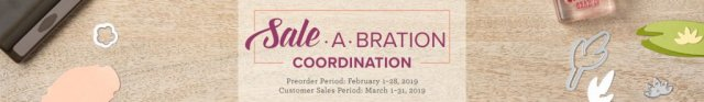 For a limited time, get coordinating products to our exclusive Sale-a-Bration items 2019!