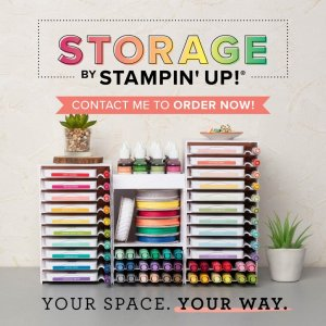 HUGE ANNOUNCEMENT – Storage by Stampin' Up!