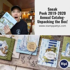 Sneak Peek – Watch as I unpack my 2019-2020 Pre-order box LIVE!…..well, almost live