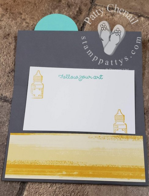 "This project was created using the ""It Starts With Art"" product suite from Stampin' Up!'s 2019-2020 Annual catalog."