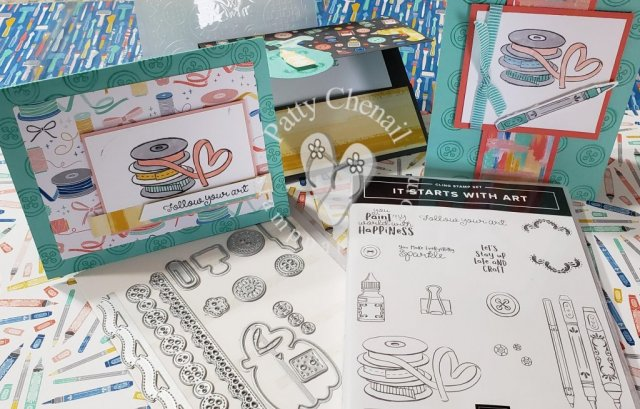 It Starts With Art product bundle from Stampin' Up!