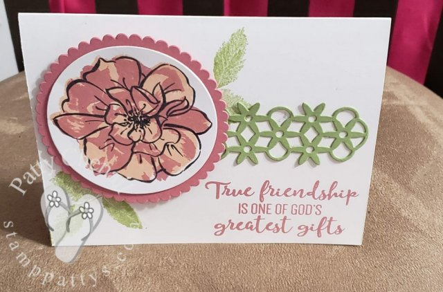 "Created using the ""To A Wild Rose"" bundle from the Stampin' Up! 2019-2020 Annual Catalog Pg 141"