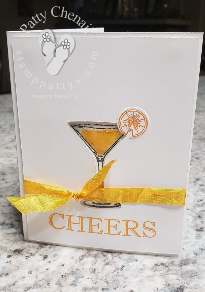 Another fabulous project using the Cheers To That / Sip, Sip, Hooray Bundles!