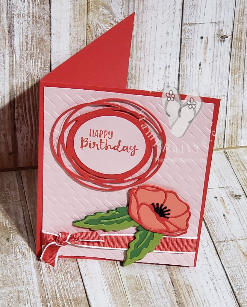 Poppy Parade….a parade of stampers creating beautiful projects together!