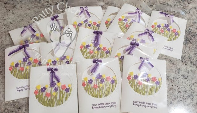 One die from the limited time only Sending Flowers Dies can create this incredible cards in minutes! Get yours today by visiting my site!